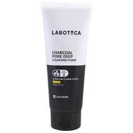 Leaders, Labotica, Charcoal Pore Deep Cleansing Foam, 5.07 fl oz (150 ml)