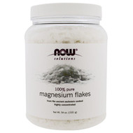 Now Foods, Solutions, Magnesium Flakes, 100% Pure, 54 oz (1531 g)