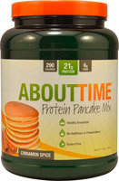 About Time Protein Pancake Mix Cinnamon Spice -- 1.5 lbs