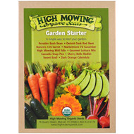 High Mowing Organic Seeds, Garden Starter, Organic Seed Collection, Variety Pack, 10 Pack
