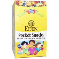 Eden Foods, Pocket Snacks, Tamari Almonds, Dry Roasted, Organic, 12 Packages, 1 oz (28.3 g) Each