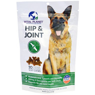 Vital Planet Hip & Joint For Dogs Chicken -- 30 Soft Chews