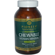Pioneer Vitamin Mineral Multi Fruit - 180 Chewables