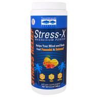 Trace Minerals Research Stress-X Magnesium Powder Raspberry Lemon -- 8.5 oz