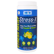 Trace Minerals Research, Stress-X Magnesium Powder, Lemon Lime, 8.8 oz (250 g)