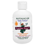 Vitanica, Turmeric Tonic, Ginger, 4 oz (118 ml)