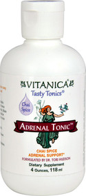 Vitanica, Adrenal Tonic, Chai Spice, 4 oz (118 ml)