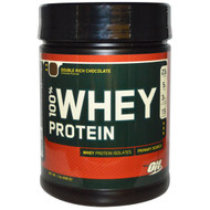 Optimum Nutrition, 100% Whey Protein, Double Rich Chocolate, 1 lb (454 g)