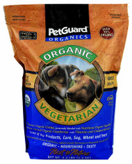 PetGuard Organic Vegetarian Dry Adult Dog Food - 4.4 lbs