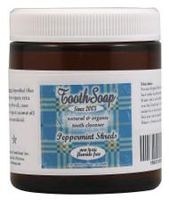 Tooth Soap, Shreds,  Peppermint - 4 oz