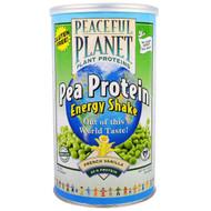 VegLife, Pea Protein Energy Shake, French Vanilla, 18.9 oz (534 g)