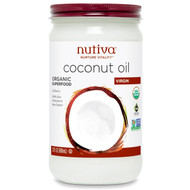Nutiva, Organic Coconut Oil, Virgin, 23 fl oz (680 ml)