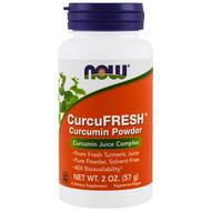 Now Foods, CurcuFresh Curcumin Powder, 2 oz (57 g)
