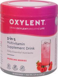 Vitalah Oxylent Daily Multivitamin Drink Canister Sparkling Berries - 30 Servings