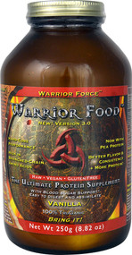 Warrior Force Warrior Food The Ultimate Protein Supplement Vanilla -- 250 g