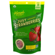 Karens Naturals, Organic, Freeze-Dried Fruit, Just Strawberries, 4 oz (112 g)