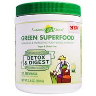 Amazing Grass, Green Superfood, Detox & Digest, 7.4 oz (210 g)