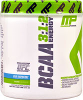 Muscle Pharm BCAA 3:1:2 Energy Blue Raspberry - 30 Servings