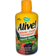 Nature's Way, Alive!, Liquid Multi, Vitamin & Mineral, Natural Citrus Flavor, 30 fl oz (900 ml)