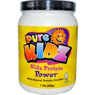 Pure Kidz, Protein Power, Vanilla, 1.1 lb (500 g)