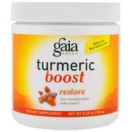Gaia Herbs, Turmeric Boost, Restore, 5.29 oz (150 g)
