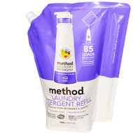 Method, Laundry Detergent Refill, 85 Loads, Lavender Cedar, 34 fl oz (1020 ml)