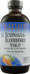 Planetary Herbals Echinacea Elderberry Syrup -- 8 fl oz