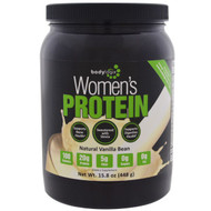 Bodylogix, Womens Protein Powder, Natural Vanilla Bean, 15.8 oz (448 g)