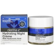 Derma E, Hydrating Night Cream, 2 oz (56 g)