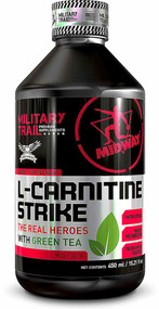 Midway Labs Military Trail L-Carnitine Strike Lemon - 15.21 fl oz