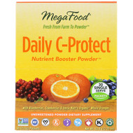 MegaFood, Daily C-Protect, Nutrient Booster Powder, 30 Packets, (2.13 g) Each