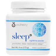 Youtheory Sleep Nighttime Powder Natural Lemon Lime -- 6 oz