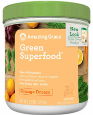 Amazing Grass Green SuperFood Drink Powder Orange Dreamsicle - 8.5 oz