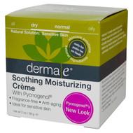 Derma E, Soothing Moisturizing Creme, 2 oz (56 g)