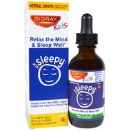 Bioray, NDF Sleep, Relax The Mind & Sleep Well, Kids, Maple Flavor, 2 fl oz (60 ml)