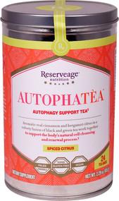 Reserveage Nutrition AutophaTea Autophagy Support Tea Spiced Citrus - 24 Tea Bags