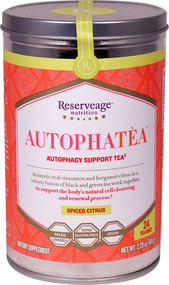 Reserveage Nutrition AutophaTea Autophagy Support Tea Spiced Citrus - 24 Tea Bags