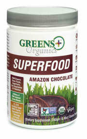 Greens Plus Organics Superfood Amazon Chocolate - 8.46 oz