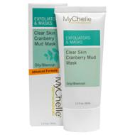 MyChelle Dermaceuticals, Exfoliators & Masks, Clear Skin Cranberry Mud Mask, Oily/Blemish, 1.2 fl oz (35 ml)