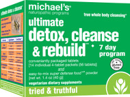 Michaels Naturopathic Programs, Ultimate Detox Cleanse and Rebuild 7-Day Program - 1 Kit