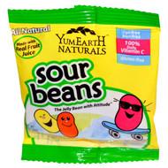 YumEarth, Sour Jelly Beans, Snack Pack (Bulk), 50 Snack Packs, 20 g Each