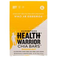 Health Warrior, Chia Bars, Banana Nut, 15 Bars, 13.2 oz (375 g)
