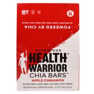Health Warrior, Chia Bars, Apple Cinnamon, 15 Bars - (25 g) Each