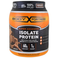 Body Fortress, Super Advanced 100% Protein Isolate, Chocolate, 1.5 lbs (680 g)