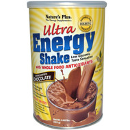 Natures Plus, Ultra Energy Shake, Supercharged Chocolate, 0.80 lbs (363 g)