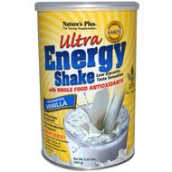 Nature's Plus, Ultra Energy Shake, Invigorating Vanilla, 0.80 lbs (363 g)