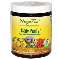 MegaFood, Daily Purify, Nutrient Booster Powder, Unsweetened, 2.1 oz (58.9 g)