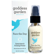 Goddess Garden, Organics, Face the Day, Sunscreen & Firming Primer, SPF 30, 1 oz (28 g)