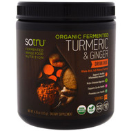 SoTru, Organic Fermented, Turmeric & Ginger Drink Mix, 4.76 oz (135 g)
