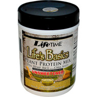 Lifetime Lifes Basics Plant Protein Mix Unsweetened - 16.24 oz